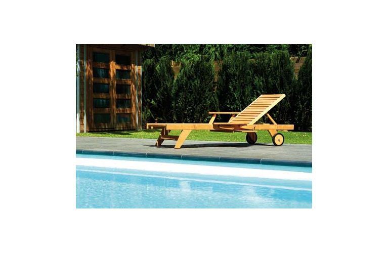 Traditional Teak Leah lounger - afbeelding 3