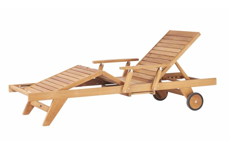 Traditional Teak Leah lounger - afbeelding 1
